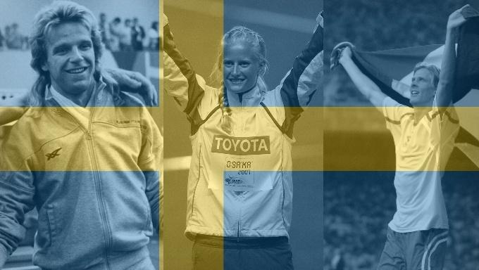 Top 10: Sveriges absolut bästa friidrottare genom tiderna