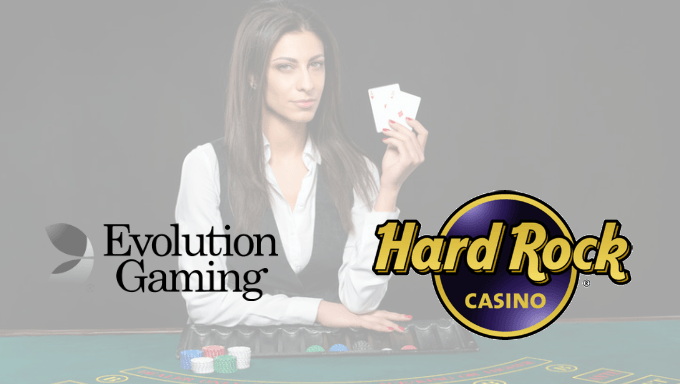 Evolution to Bring Live Online Gaming to Hard Rock AC