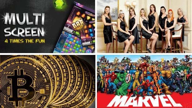 Topp 10 innovasjonsrike funksjoner for casinospill
