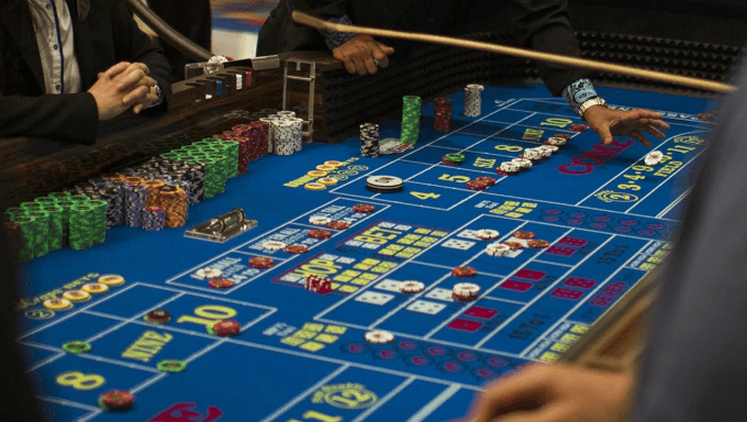 Explaining the Craps Table For Beginners