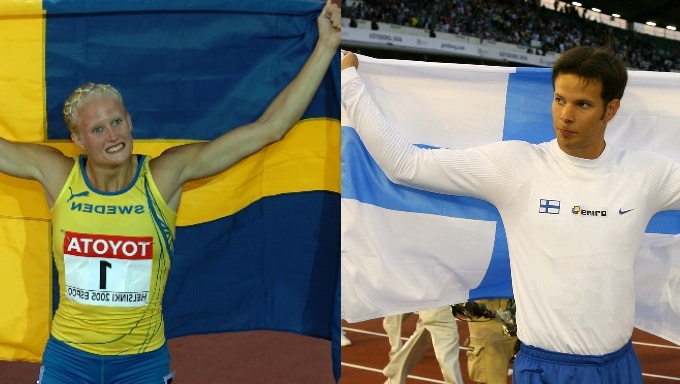Athletes Fight for Their Country in Sweden vs Finland Battle