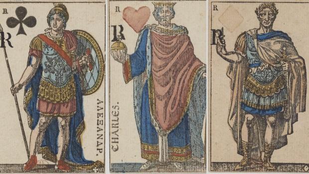 Kartenstapel zum Franzsösischen Reich