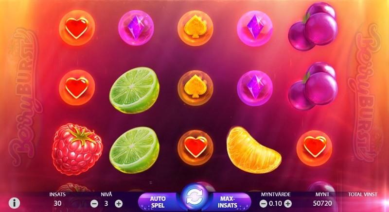 Casinostugan veckans spel BerryBurst