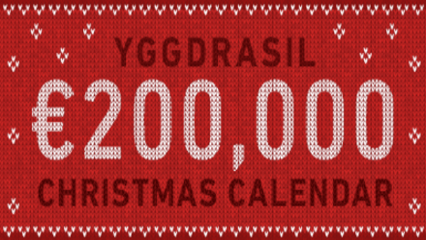 Don't Miss Yggdrasil Gaming's €200,000 Christmas Calendar