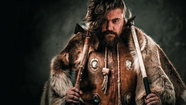 Viking spelar tärning