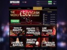 SuperCasino Live Casino Screenshot
