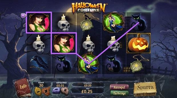 Halloween Fortune kolikkopeli