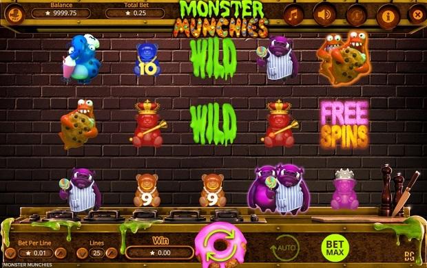 Monster Munchies kolikkopeli