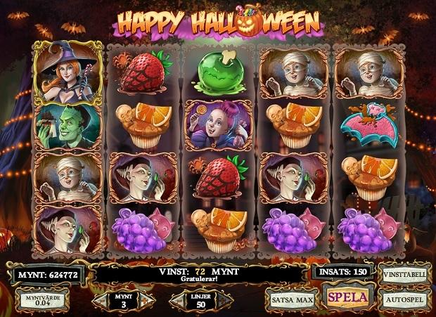 Happy Halloween kolikkopeli