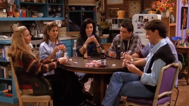 Friends, the one with all the poker