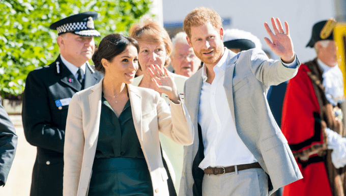 Diana Fav In Royal Baby Betting As Meghan & Harry Reveal