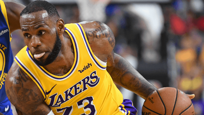 LeBron James Makes LA Lakers Debut: Here's How to Bet It