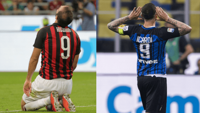 Inter Milan v AC Milan Betting Tips: Icardi Versus Higuain