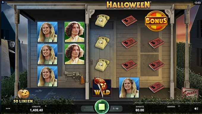 Halloween von Microgaming