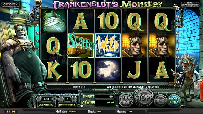 Frankenslot's Monster von BetSoft
