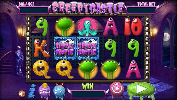 Creepy Castle Slot Game