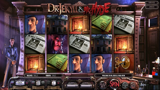 Dr Jekyll and Mr Hyde Slot Game