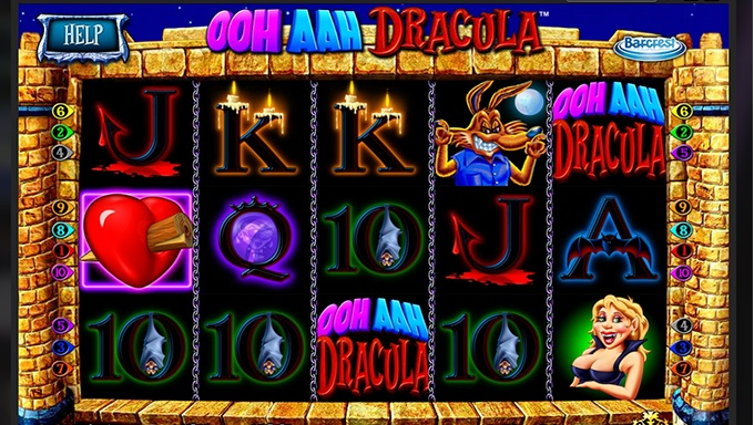 Ooh Aah Dracula Slot Game