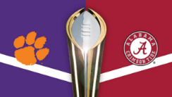 Should Punters be Backing Underdog Clemson Against the Tide?