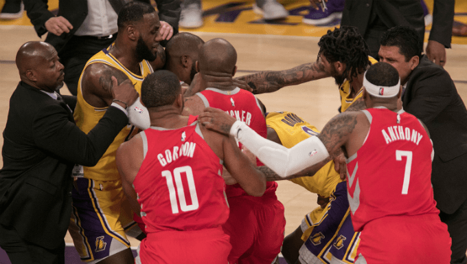 Lakers-Rockets Suspensions Impacting NBA Betting Markets