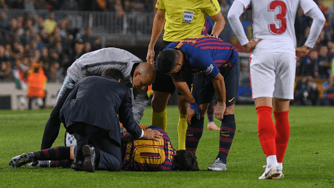 Lionel Messi Injury to Affect Upcoming Betting on Barcelona