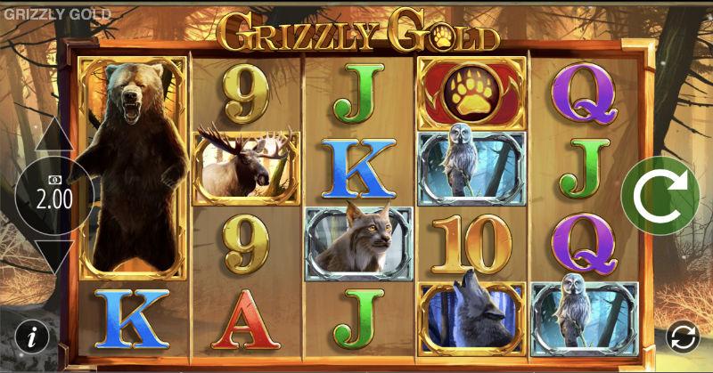 Snurra på lyckohjulet och provspela Grizzly Gold hos Casumo