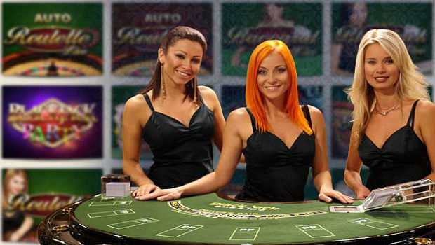 On line poker with naked women are