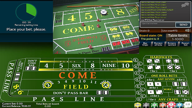 Best Live Dealer Casino Craps Sites