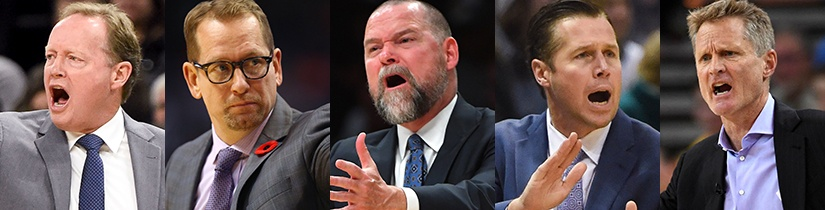 NBA Coach of the Year Betting Tips & Top Bets to Back 2019