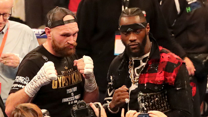 Tyson Fury's Odds on Beating Deontay Wilder Have Shortened