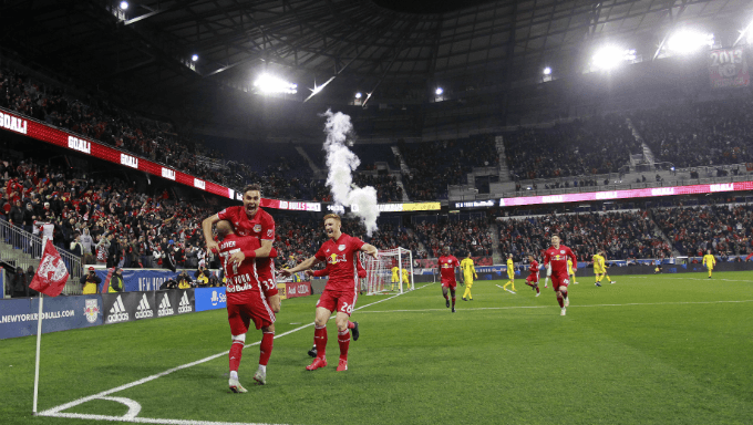 New York Red Bulls Nearing Deal With Bookmaking Companies