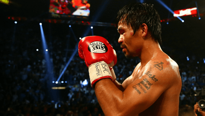 Pacquiao Favored to Defeat Broner, Land Mayweather Rematch