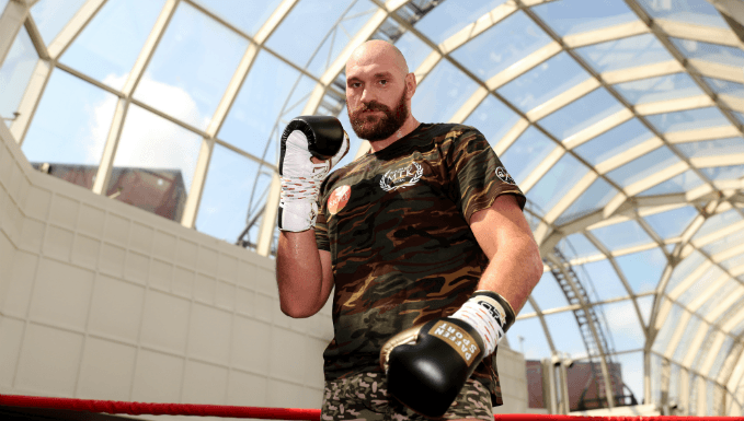 Tyson Fury Heavyweight Boxer