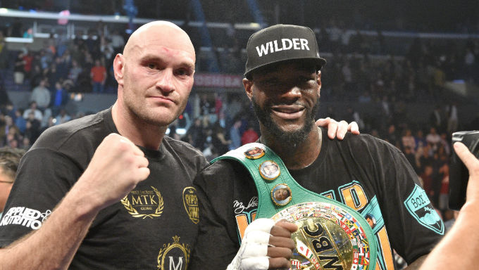 Joshua ready to fight Wilder or Fury - when they are ready