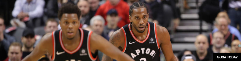 Raptors Favorites in NBA Betting to Win East, Face Warriors