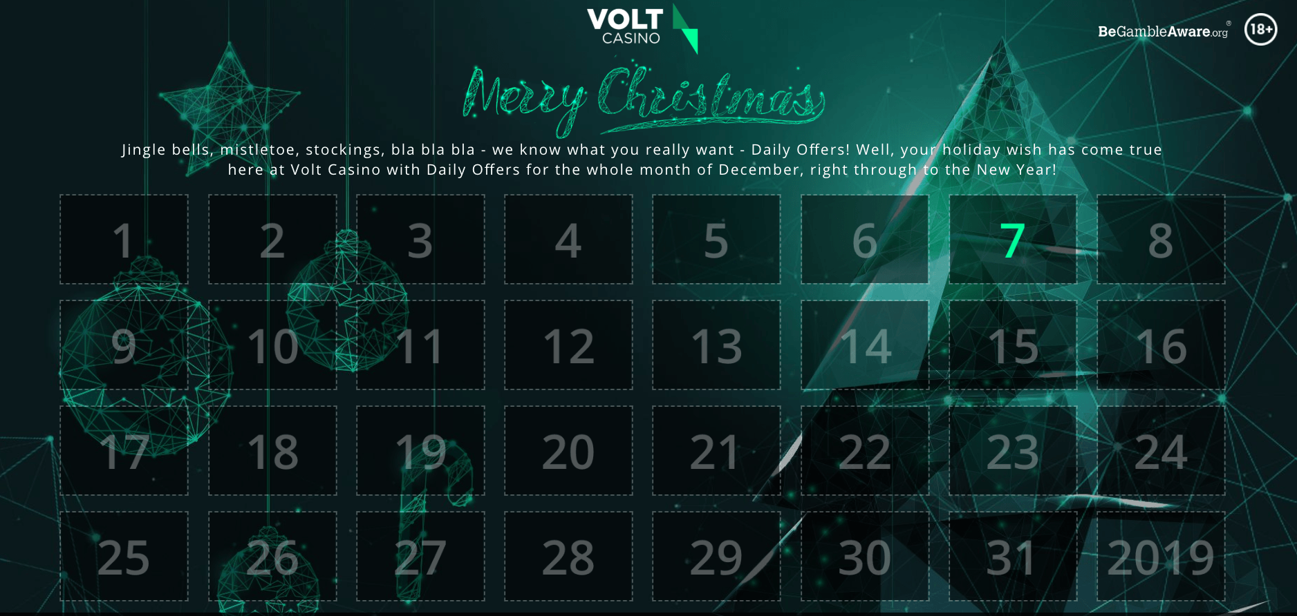 Volt Christmas Calendar