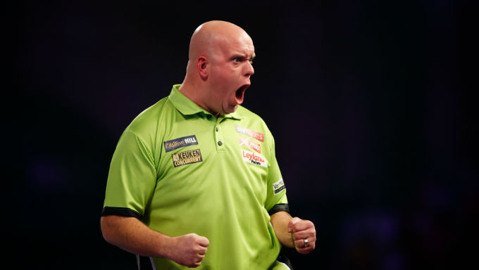 World Darts Championship: Michael van Gerwen Betting Specials