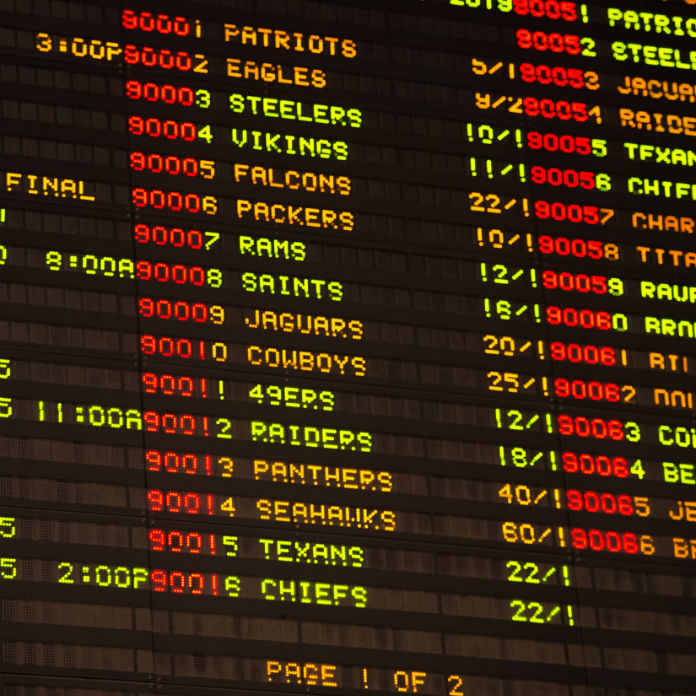 Sports betting lines college football betting trends