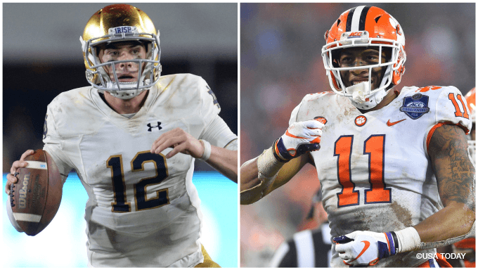 Notre Dame-Clemson CFP Semifinal Betting Odds, Tips & Picks