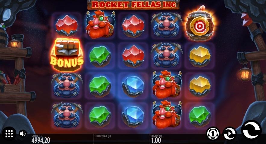 Spelnyhet: Rocket Fellas Inc från Thunderkick