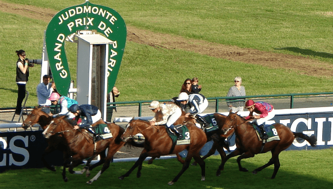 2012 Grand Prix de Paris at Longchamp Racecourse