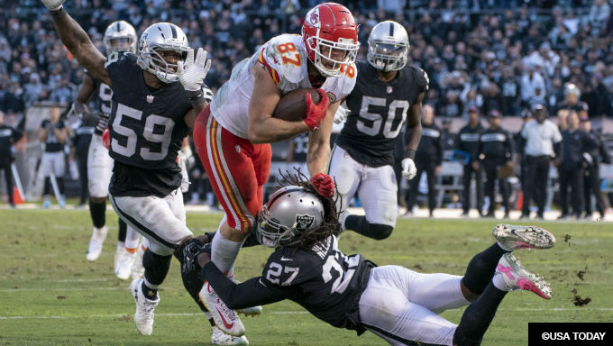 Raiders at Chiefs Betting Odds, Tips and Picks NFL Week 17