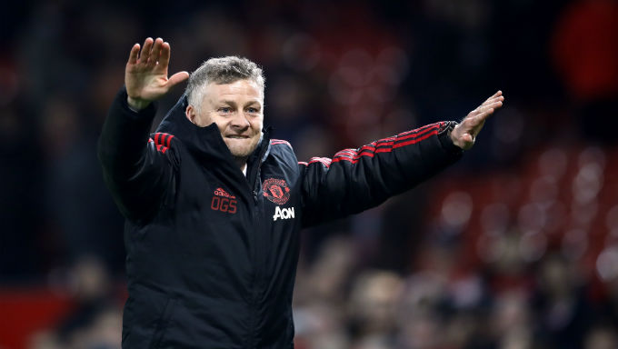 Man Utd's Top Four Odds Halved Since Solksjaer Appointment