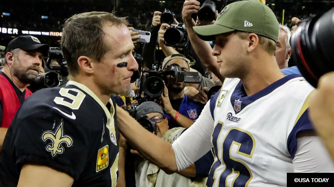 2019 NFC Championship Betting Odds: Rams-Saints Best Bets