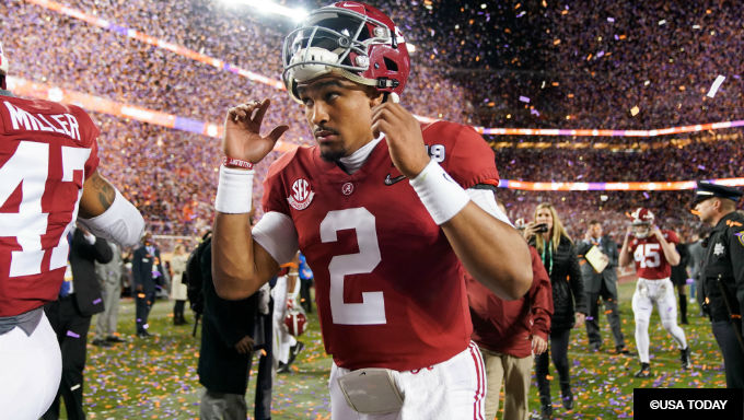 Alabama quarterback Jalen Hurts transferring to Oklahoma