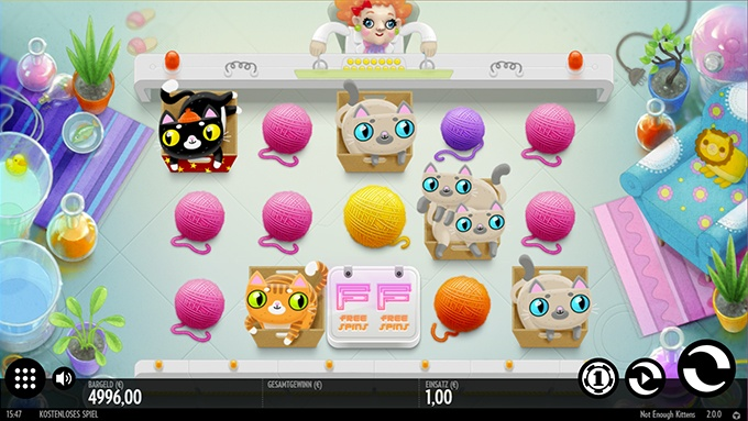 Spielautomat Not Enough Kittens