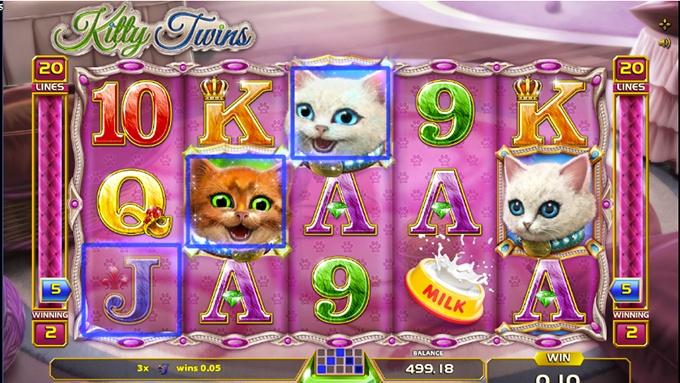 Spielautomat Kitty Twins