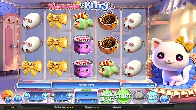 Spielautomat Kawaii Kitty