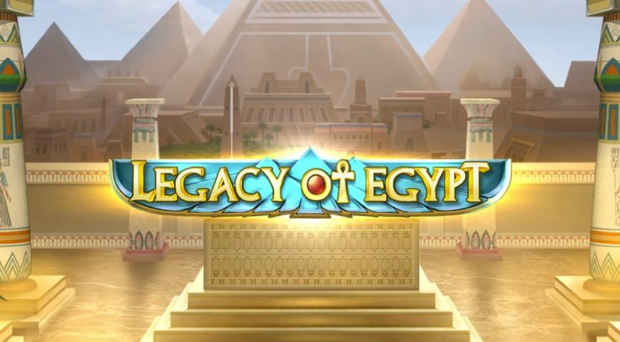 Legacy of Egypt från Play'n GO är årets spelautomat
