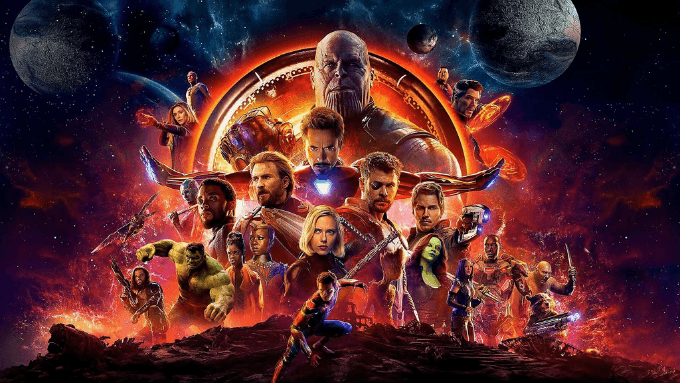 Avengers: Infinity War is 1/12 to win the Oscar for Best Visual Affects